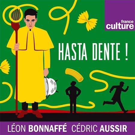 """Illustration du podcast """"Hasta Dente"""""""